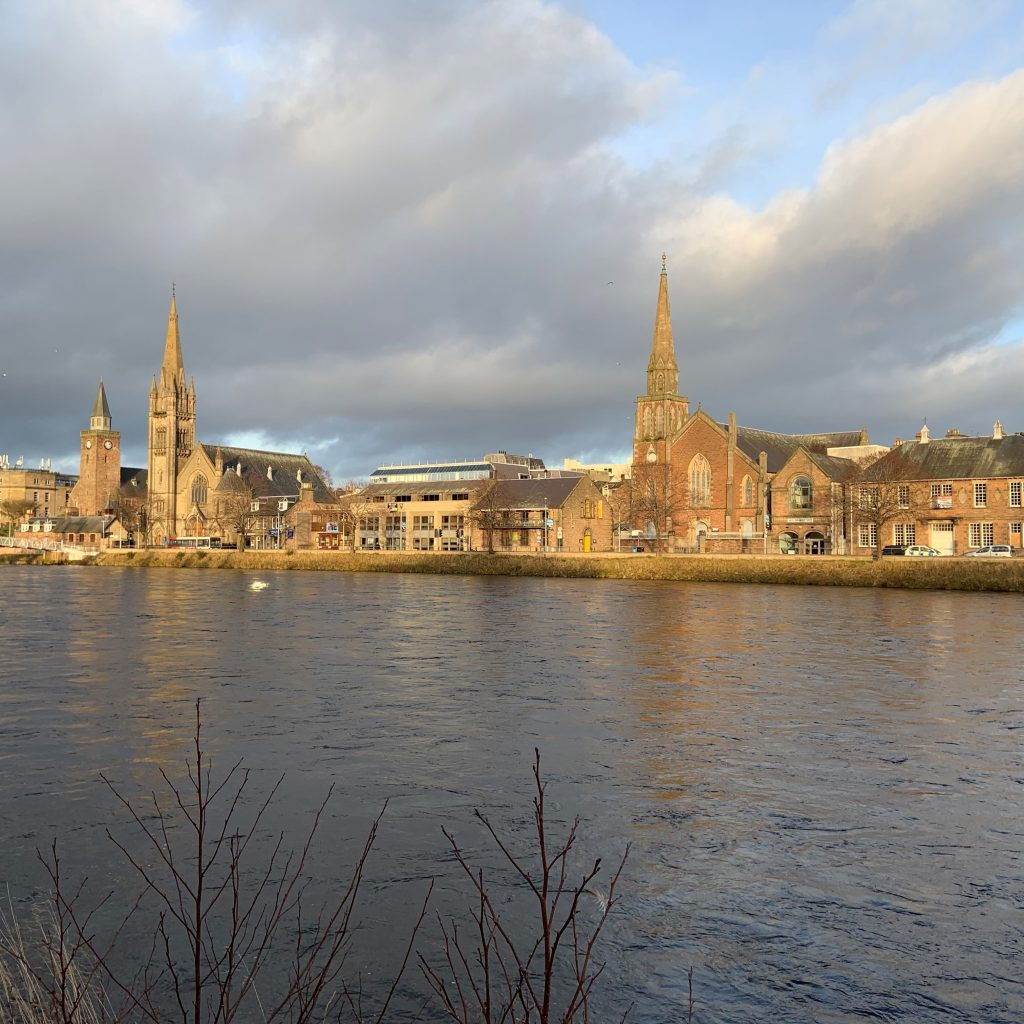 river ness view